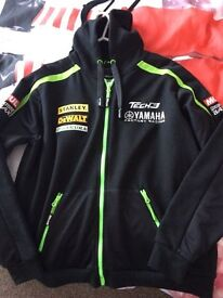 Motogp Yamaha tech 3, Bradley Smith zip up hoody.Genuine, small