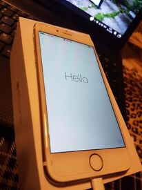 iphone 6 gold - mint condition