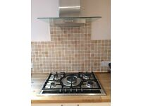 Neff 5 ring gas hob & extractor fan