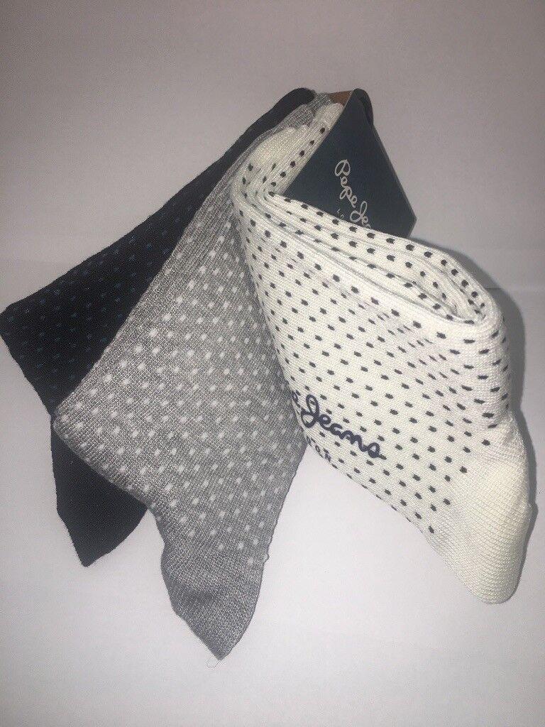 5aeda3fca5 Pepe Jeans 3 pack ladies socks Top Quality