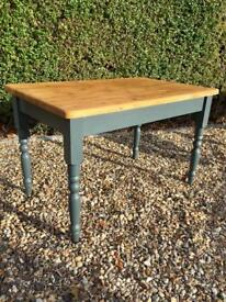 4ft Solid Pine Table