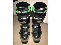 Salmon Quest Ski Boots Mens UK size 10