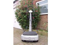 The Power Plate my3 Silver. Comes with manual, DVD and poster. Pet & smoke free home. Can deliver.