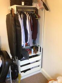 2 Ikea Pax wardrobes for sale - collection only
