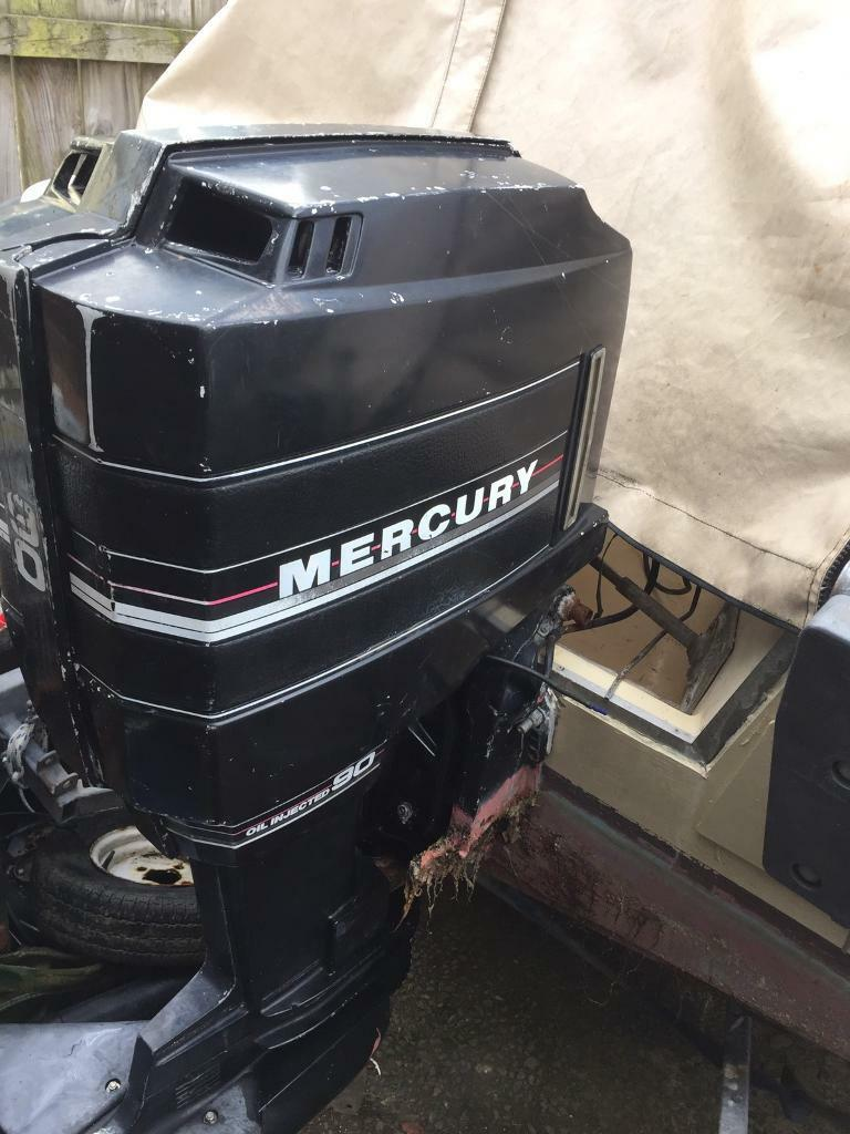 90 Hp Mercury Outboard >> 90hp Mercury Outboard Boat Engine In Bangor County Down Gumtree