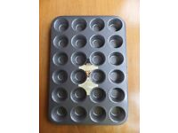 Brand New Sainsburys 24 cup Muffin Non Stick Tray