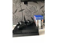 Playstation 4 500gb, 2 controllers and games, Swap for Xbox One with games, Pickup only