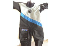 Northern Diver Cortex Drysuit - excellent condition. Size ML (mens) and boots 42/43.