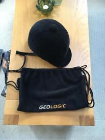 Geologic Black riding hat