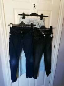 Girls Jeans 10-11yrs