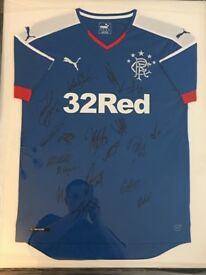 Rangers top signed , tavenier , haliday, waghorn , McKay and lots more