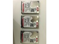 1 TB WD Red Hard Drive (3 Available)