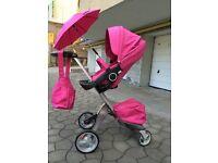 Stokke xplory pink limited edition