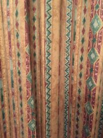Curtains and track