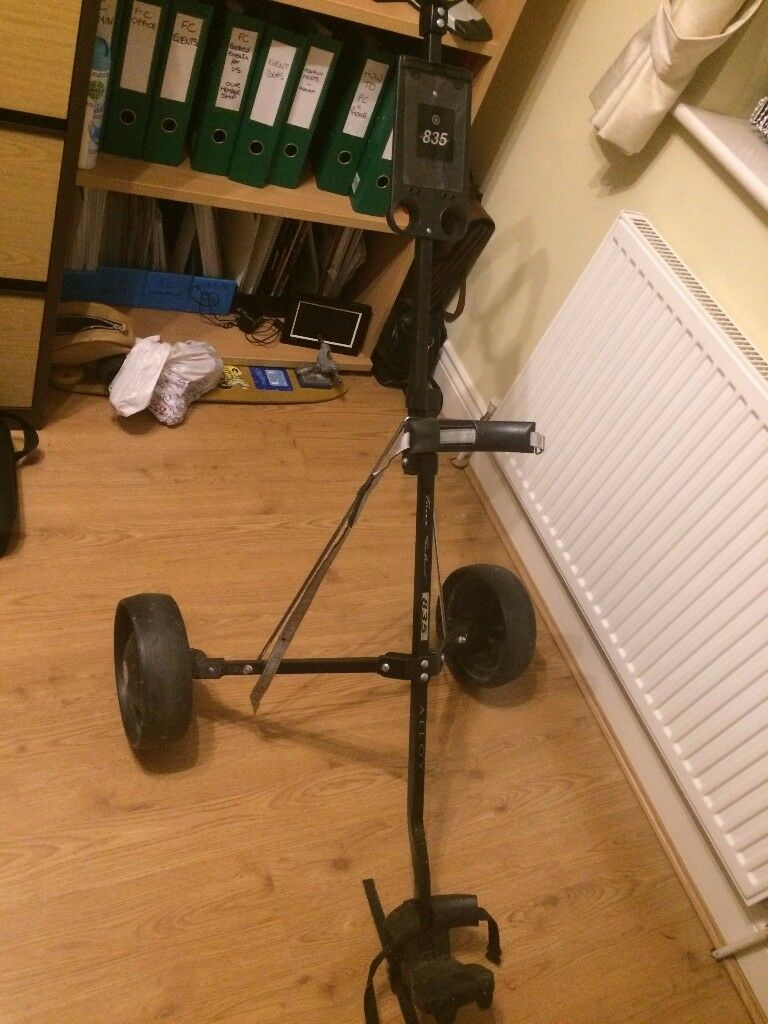 Golf Trolley, Tour Select 835, light weight, Very good condition. Black , foldaway.