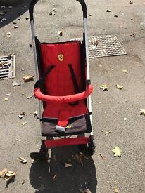 Ferrari stroller