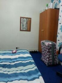 Double room for rent to share with an Indian Family