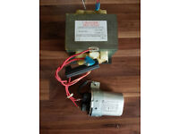 Microwave Power Transformer MD-801FMR-1 C/W capacitor
