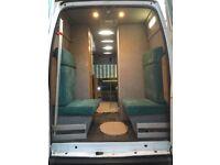 Cheap 4 berth camper van , 2010 ford transit t350 114 euro camper van
