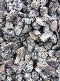 Granite stones / chips £75 per bag