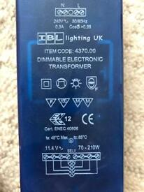 Dimmable electronic transformer FREE