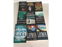 9 x JAMES HERBERT / HARLAN COBEN / RICHARD LAYMAN BOOKS