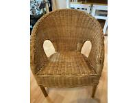 Cute Child's Vintage Wicker Chair