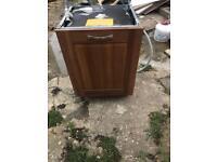 AEG Electrolux integrated dishwasher top model