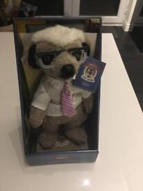 Sergei compare the meerkat toy New in box & certificate