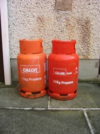 2 X Calor Gas Bottles
