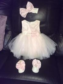 6-12months girl formal/wedding outfit