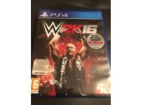 W2k 16 PS4 game