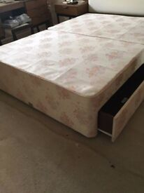 4 Drawer Double Bed Base (Mattress not included)