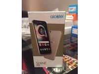 Alcatel Shine brand new White colour Unlock Smartphone.