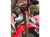 Honda crf 250 mx motocross not yzf kxf Rmz Ktm 450