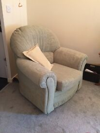 Solid Comfy Armchair