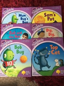 Oxford Reading Tree Books Levels 1 -6