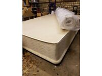 Double Divan Bed with Brand New Memory Foam Mattress