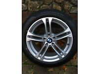 Genuine BMW 5 Series M-Sport Alloy Wheels With Tyres