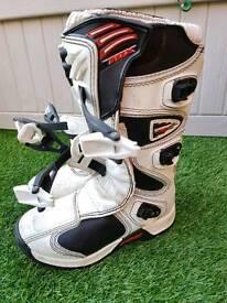 Fox Comp 5 kids motocross mx boots size 3