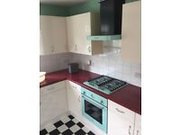 Belling SCBI60FP Sebastian Conran Pastel Green Electric Oven, Gas Hob and Extractor Fan