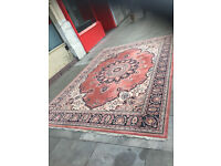 Large rug in good condition. Must be seen . Great colours. Size 8ft x 11.5ft approx 340cm x 240cm .