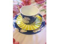 Cath kidston bone China tea for one set