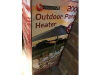 Outdoor parasol heater £25