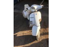Vespa pk50 smallframe scooter barnfind