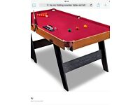 6 foot Pool/Snooker Table