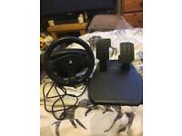 PS4 Racing Wheel and Pedals
