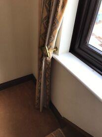 Dress curtains x2