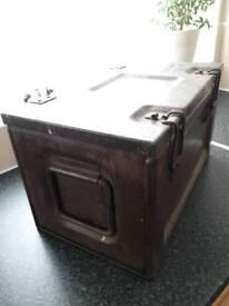 WW2 British ammo box dated.