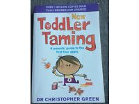 Toddler Tamming, a parents' guide to the first four years
